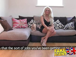 Sioban hunter porn star Fakeagentuk sticky facial for uk porn star duped
