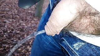 Pissing thru overhang