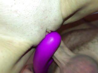 Ass slapping balls - Vibe orgasm ball slapping