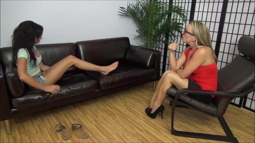 Sandra Romain Lesbian Feet