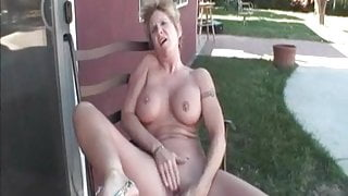 My Sexy Piercings granny with pierced nipples and pussy sex