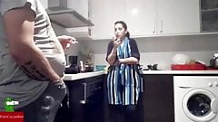 WHITE EUROPEAN WOMEN FUCKED IN KITCHEN