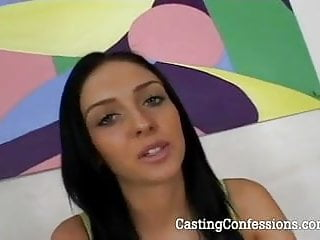 Stephanie porn star tryout 20 year old stephanie is cast for porn scene