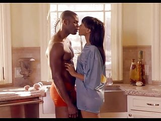 Ebony kitchen sex Softcore-ebony couple have a morning fuck in the kitchen.
