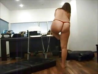 Blonde chubby milf - Chubby milf visits friend at office