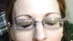顔射を求める妻