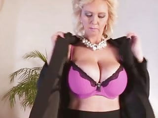Young nked boobs - Awesome blonde huge-boobs-milf fucked by young guy