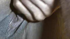 Closeup Black Cuckold Creampie Part 1