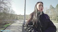 Public Agent, Asian babe Alina Crystall Fucks Stranger