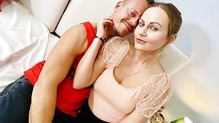 Brunette Brit Pornstar TINA KAY Fucks VIRGIN - DATERANGER
