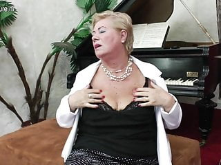 Kind naked girls Old grandma plays her own kind of music