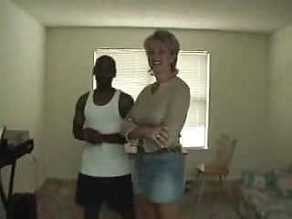 Large vintage locket Large blonde mom and a small black guy