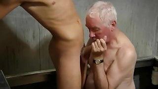 Young boy fucks a great grandpa
