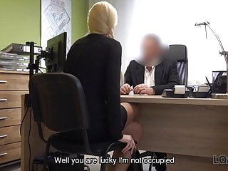 Free sex cams no credit card no email Loan4k. blonde angel pays with sex for flexible credit...