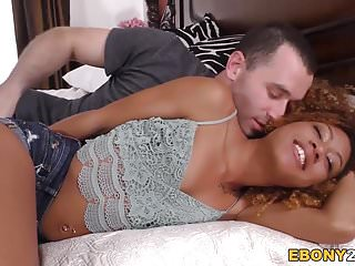 Ebony wife white dick - Young ebony kendall woodz fucks white dick