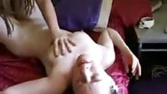 Two hot hippie chicks hump, eat out and finger each other