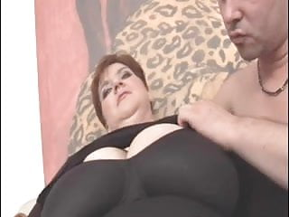 Boob drooping Unforgettable shorthair-bbw-milf with huge boobs fucked