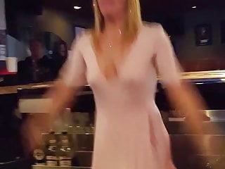 Nude women doing jumping jacks Jumping jacks bartender