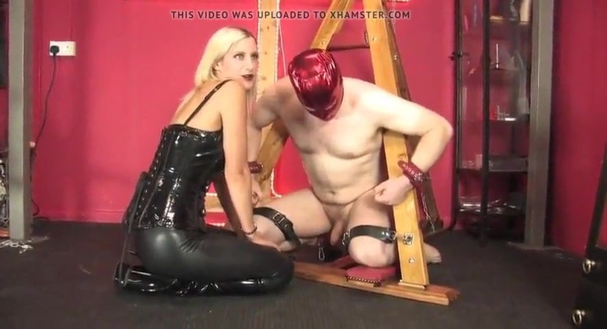 Ball squeeze femdom ball squeeze