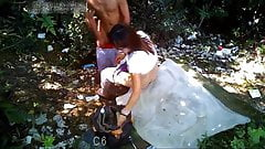 Younger Asian With Sexy MILF Prostitute Bareback Outdoors