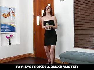 Nude lapdancers Familystrokes - slutty sister seduces bro with lapdance