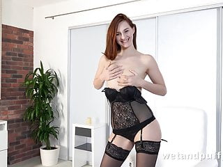 Ameuter redhead orgasm vidoes - Orgasm - big black dildo makes this redhead orgasm