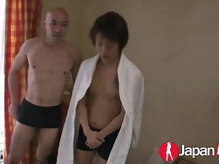 Redhead dp with double creampie Japan hd japanese dp with creampie surprise