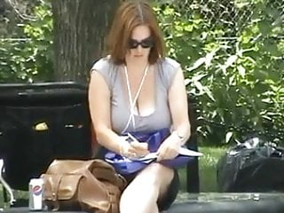 Milf with low hanging humongous tits Low hanging milf boobs