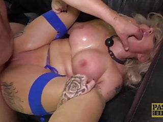 Gagged and spanked tube movies Pascalssubsluts - milf louise lee gagged and destroyed