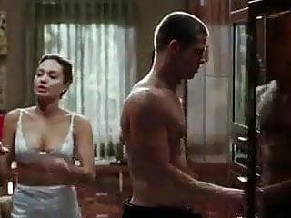 Half cup risque lingerie uk - Angelina jolie half slip