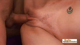 Domme MILF Darryl Hanah teaches her slut to be even kinkier