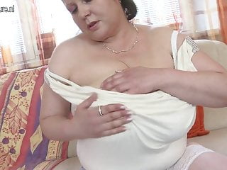 Breast swelling in boys - Huge breasted mother fucking young boy like crazy