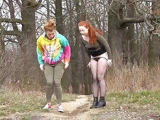 Infocus girls peeing free Girls peeing together