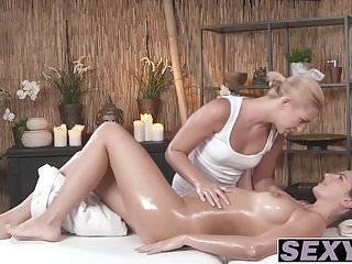Tracy lords get fucked - Cynthia and tracy get nasty after massage session