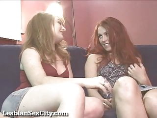 Hot redhead lesbian sluts - Hot redhead lesbians make each other cum