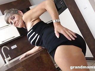 Facial grandma Grandma just got facialized by horny toy boy