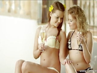 Explaining ones sexual feelings Pretty lesbians share a moment to feel arouse for each one