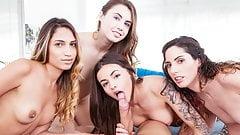 Private.com Gorgeous Girls Share a Stallion