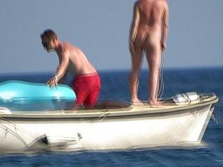 Japanise nude girl video Nude girl in boat public beach