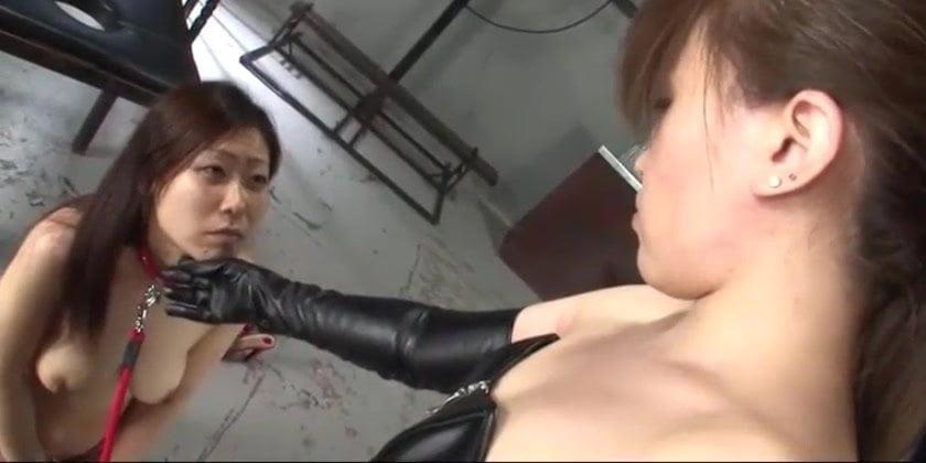 Brazilian Lesbian Face Slap