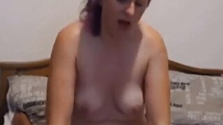 Mom riding son cock first time