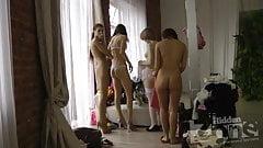 En el vestidor
