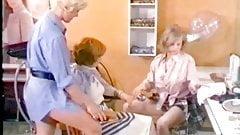 Classic german 70s - Die supergeilen Im friseursalon