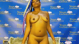 Egypt - First Ever casting In Vegas – POV Anal and More!