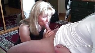Carol Cox giving a awesome BJ