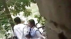 Desi Outdoor-Freund und Freundin lieben Sex, versteckte Kamera