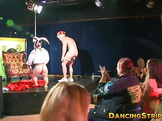 Dancing stripper gif - Big dicked strippers dirty dance and throat party hard babes