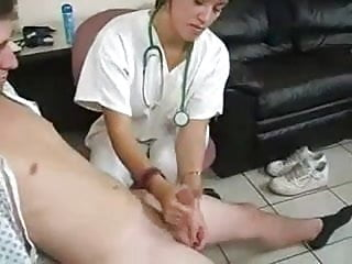 View sample handjobs - Nurse takes a semen sample wf