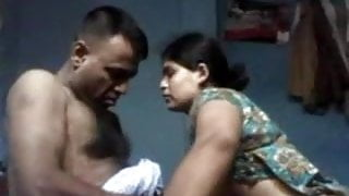 Desi Uncle and Aunty in Homemade Sextape
