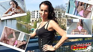 GERMAN SCOUT - FIRST TIME ANAL FOR MILF AT STREET CASTING